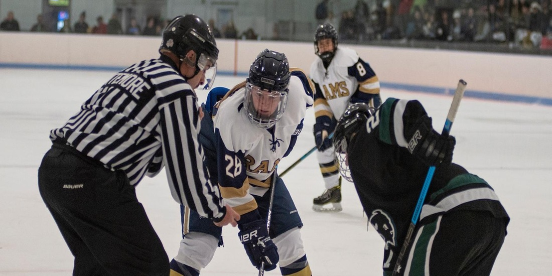 Women's Hockey Visits Anna Maria, Starts NEHC Play vs. JWU