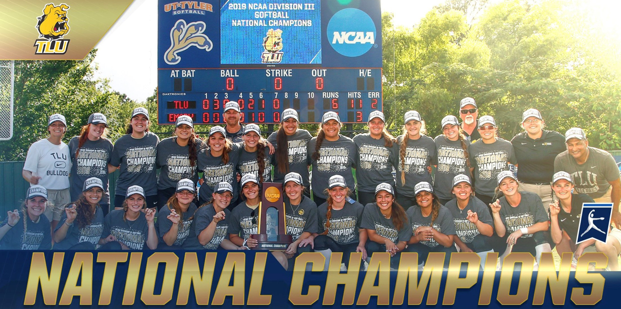 NATIONAL CHAMPIONS! Texas Lutheran Claims NCAA Division III Softball Title