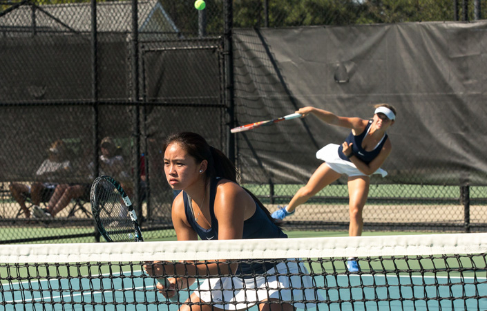Streak Ends for Harding and Su in ITA Oracle Cup Doubles Championship