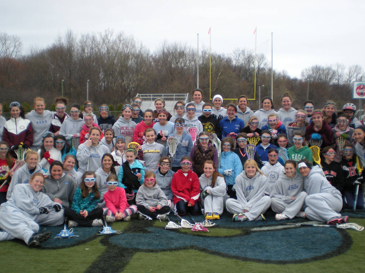 CCSU Lacrosse Holds Youth Clinic On Sunday