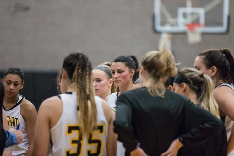 Lancers Stall Women's Basketball's Offense in 73-56 Win