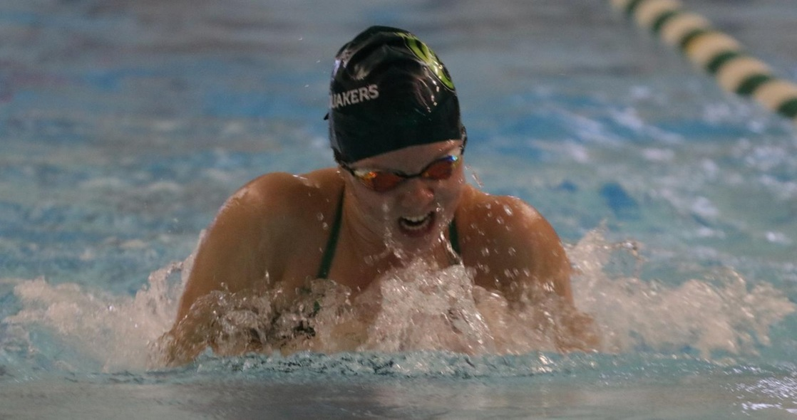 Women's Swimming to Compete in Double Dual Meet Saturday