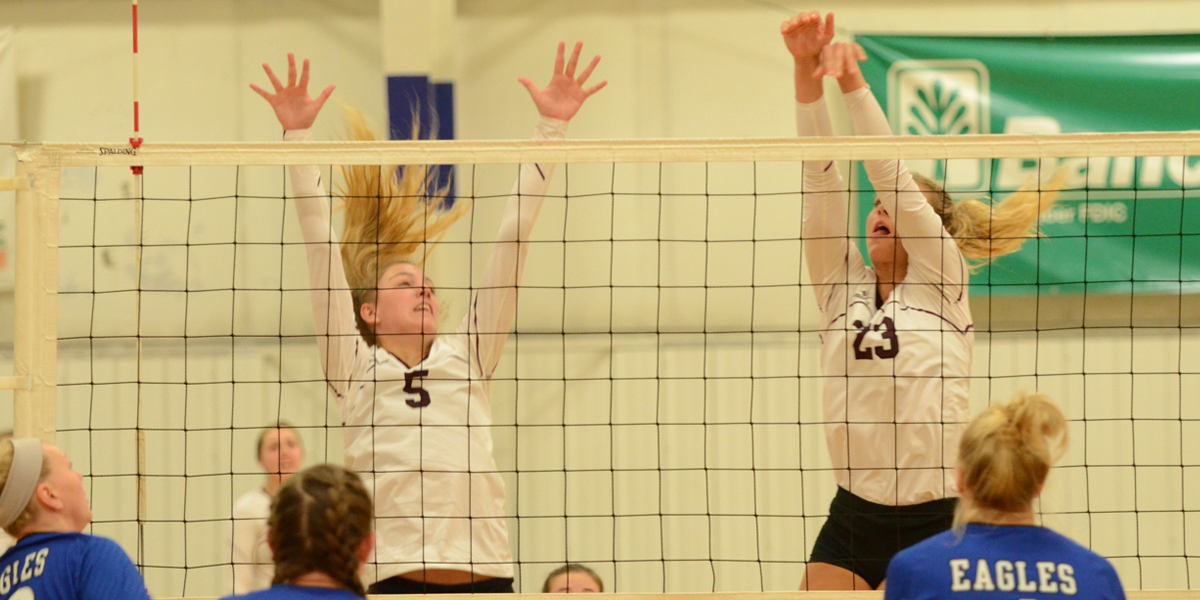Evangel Volleyball Wins Sixth Straight to Close Tournament Action