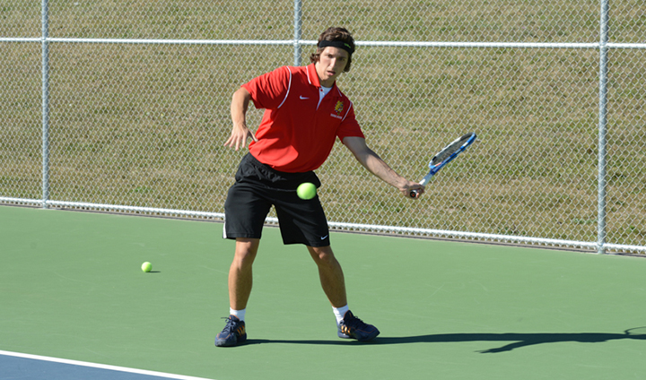 Bulldog Men's Tennis Drops First Match On Annual Spring Break Trip
