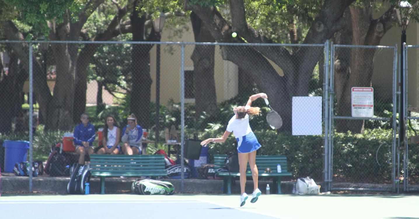 Women's Tennis Tames Wildcats