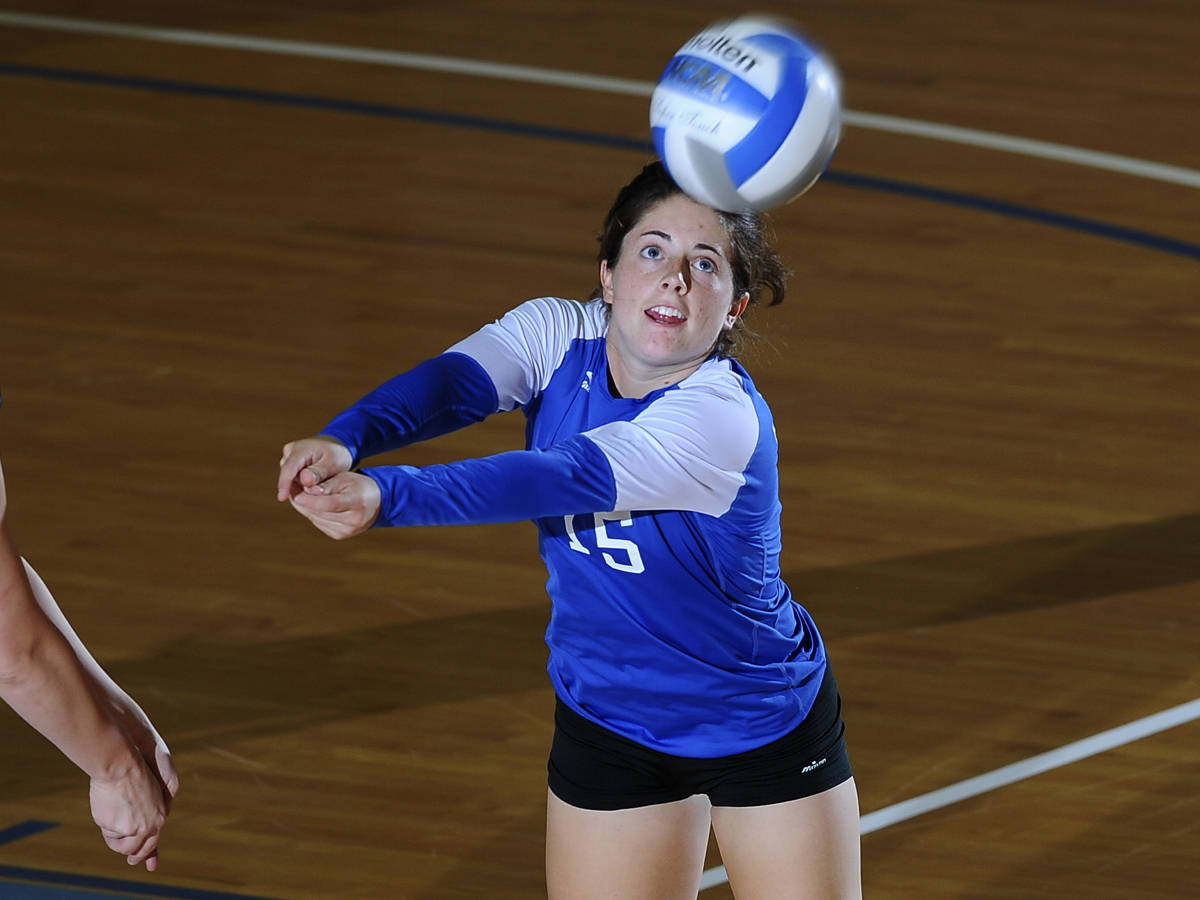 Petrella Records 32 Digs in 3-2 Loss to Robert Morris