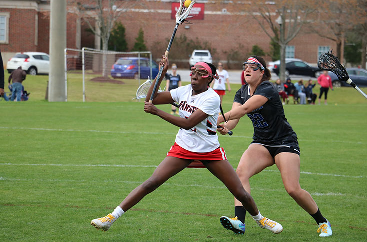 Women's Lacrosse: Davida White's record breaking game leads Panthers to first win of season