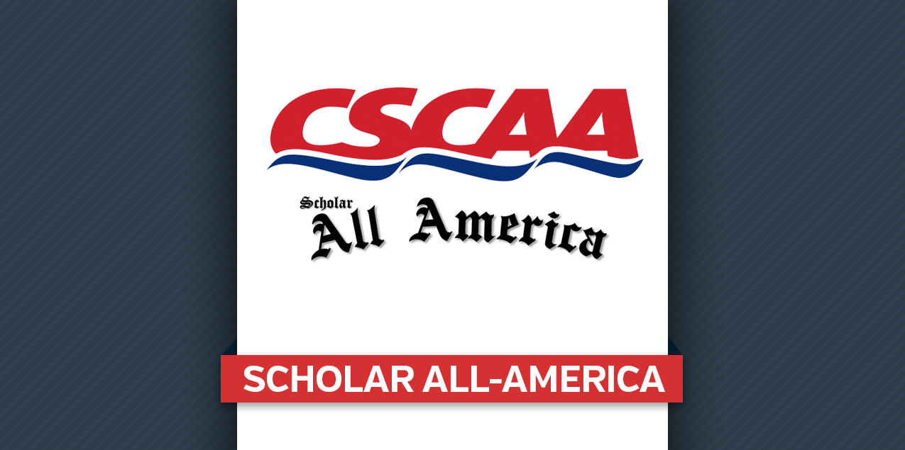 Five Women's, Three Men's Teams Earn CSCAA Scholar All-America Honors