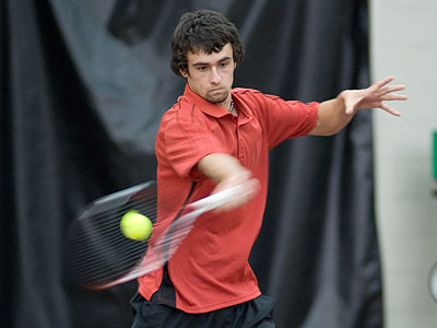 Steven Roberts reached the quarterfinals of singles play (FSU Photo Services)