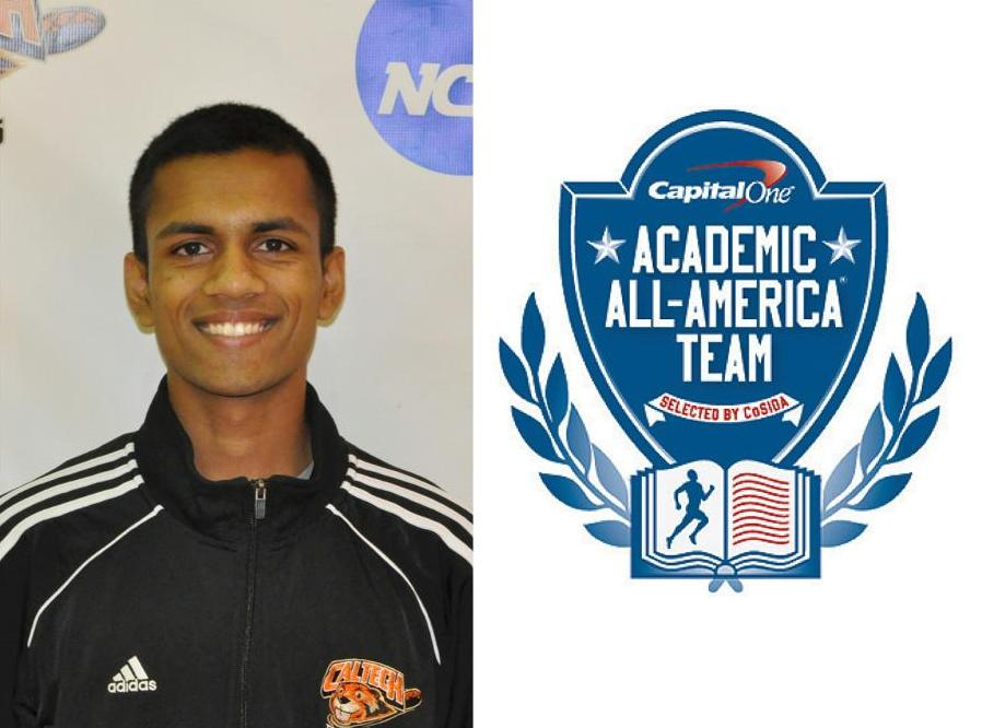Bhagavathi Earns Highest Academic All-America Honor in Caltech History