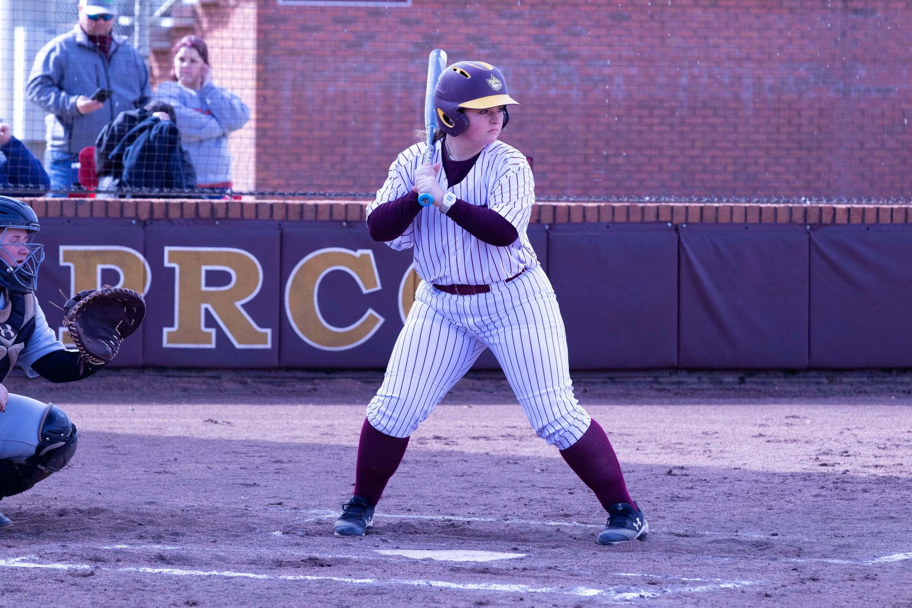Jenna Comeaux hit two homers in Pearl River's 17-9 loss to LSU-Eunice on Friday in Game 2 of the annual Wildcat Invitational at Lady Wildcat Stadium in Poplarville, Miss. (KRISTI HARRIS/PRCC ATHLETICS)
