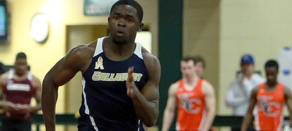 Records fall in season debut for men's indoor track and field team