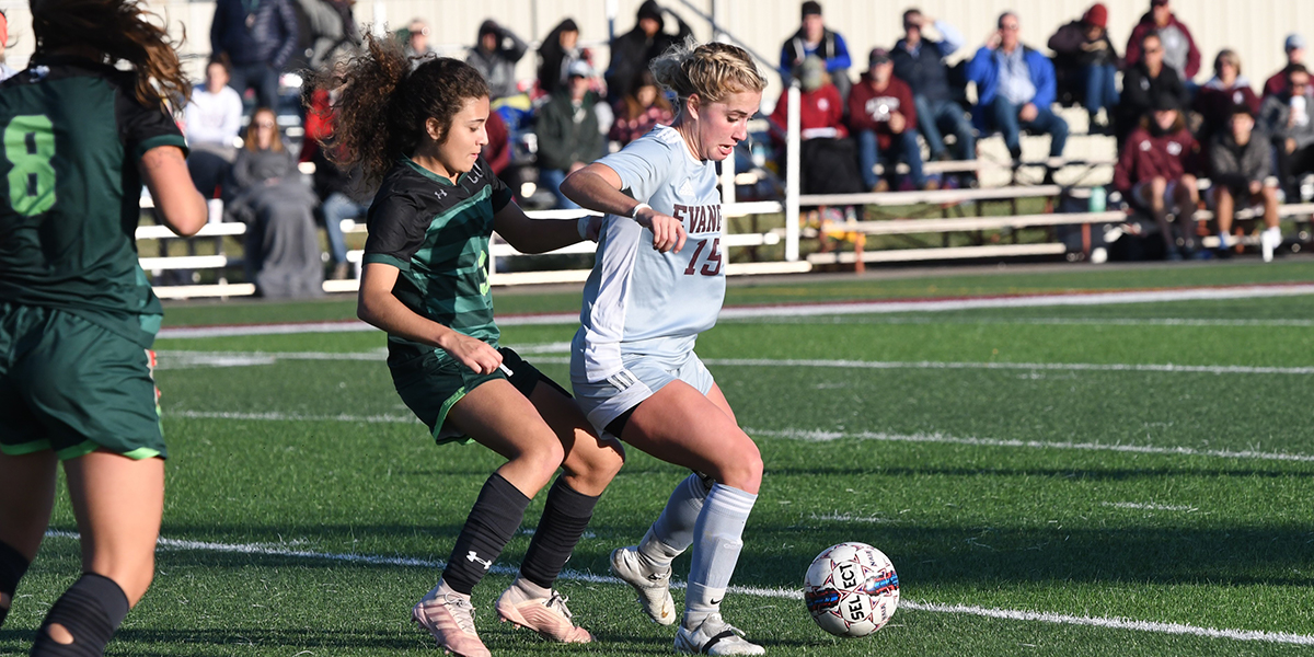 Evangel Soccer Blanked by No. 5 Central Methodist in Heart Semifinals