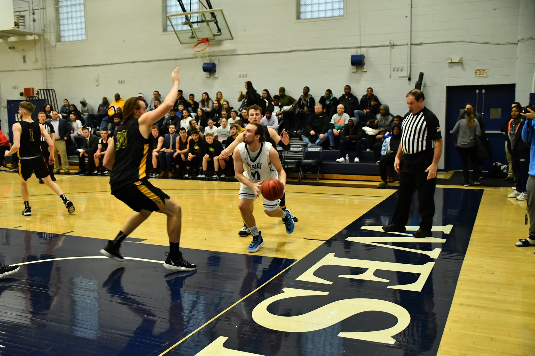 Men's Basketball Secures Final Regular Season Home Win Against Cabrini on Senior Night