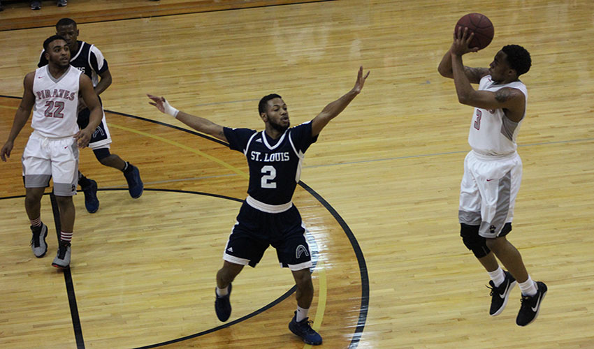 Energetic Pirates Take It To STLCC In 87-69 Victory