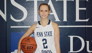 Penn State DuBois Women Improve to 1-1
