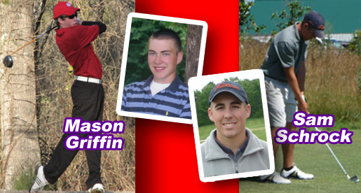 Men's golf adds signees Griffin, Schrock for 2010