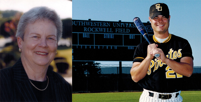 Lowry/Gelotti to Be Inducted into Southwestern Athletics Hall of Fame