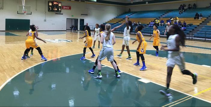 Brunswick Pulls Away from Lady Gators in Final Period