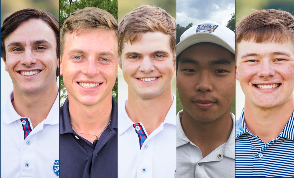 Emory Golfers Earn All-Region And All-America Scholar Recognition