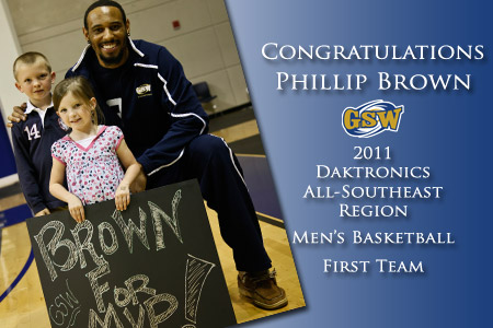 Brown named First Team All-Region