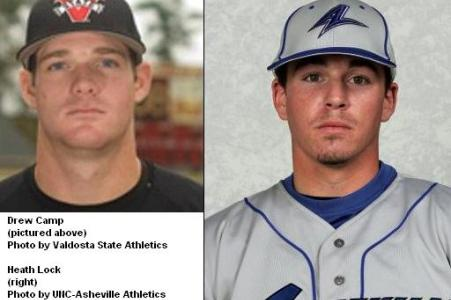 Camp and Lock on List of Transfers Added to Baseball Roster