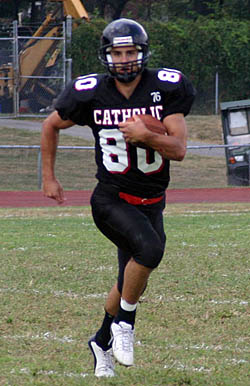 Catholic WR Nick Bublavi