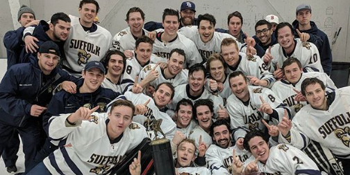 Men's Hockey Captures 2017 Manchester PAL/Stovepipe Tournament in Final Seconds