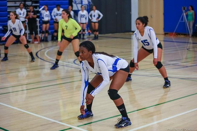 The Cerritos volleyball team came in fourth place at their tournament