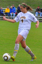 Rachel McKee scored her team-best third goal of the season.