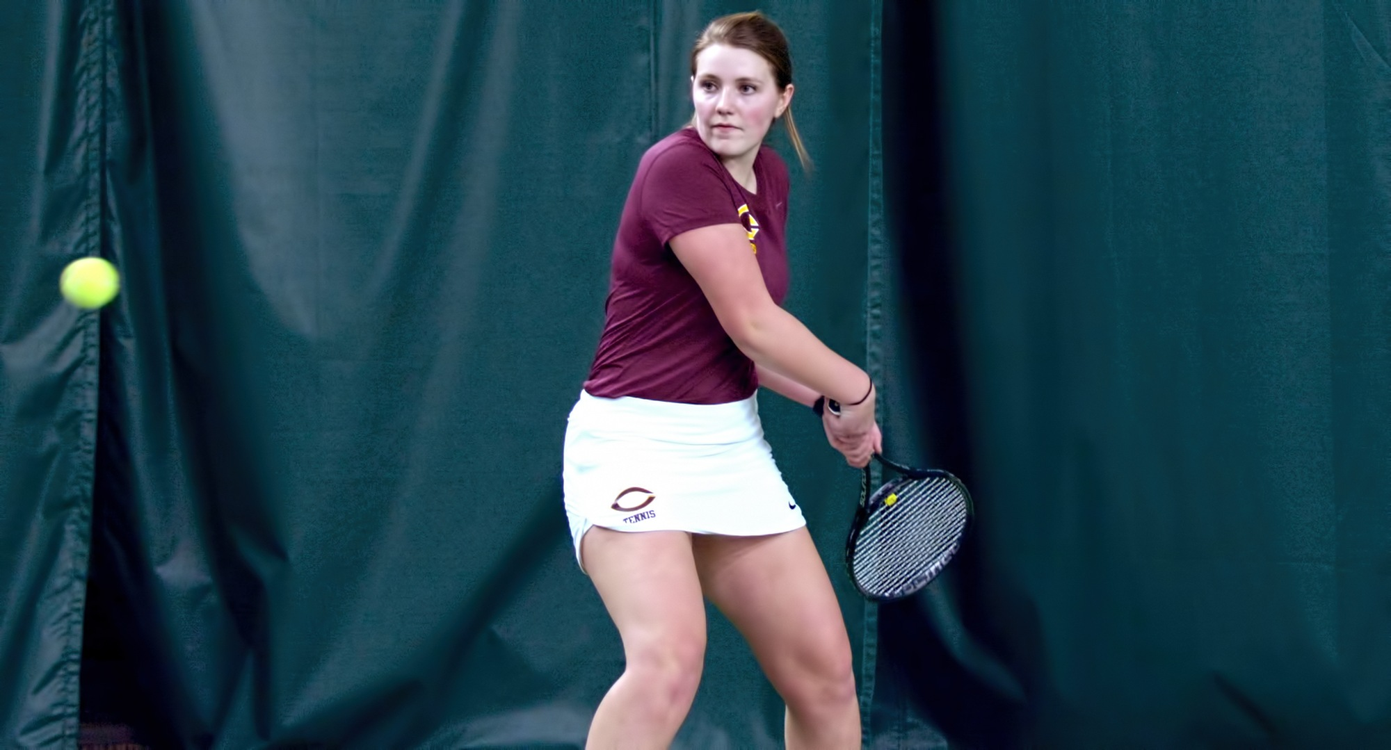 Junior Kendra Stoick rallied from losing the first set to win at No.1 singles in the Cobbbers' 8-1 victory at Minn.-Morris.