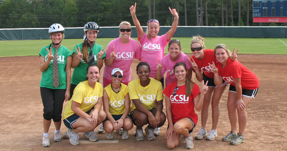 Team ooh-OOH!!! Takes GCSU Softball Olympics Title