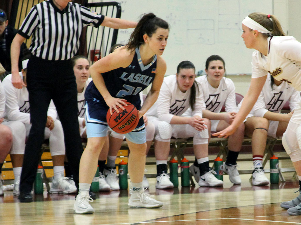 Rivier edges Lasell Women's Basketball
