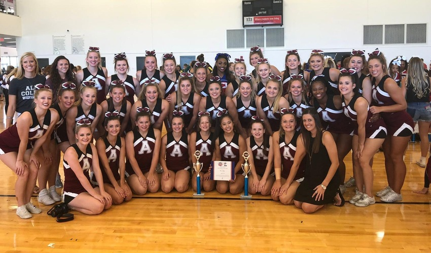 Cheer Team Earns Gold Bid to NCA Nationals