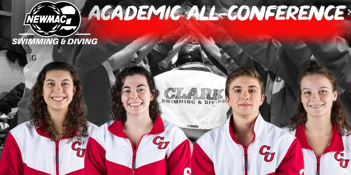 Moody, Carson, Siewert, Dubick Named to NEWMAC Swimming and Diving Academic All-Conference Teams