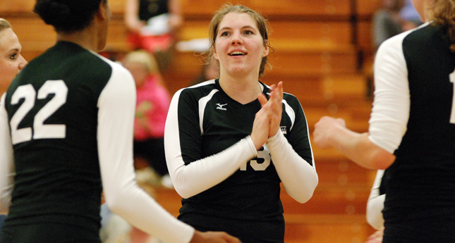 LC Volleyball Defeats Randolph in Three