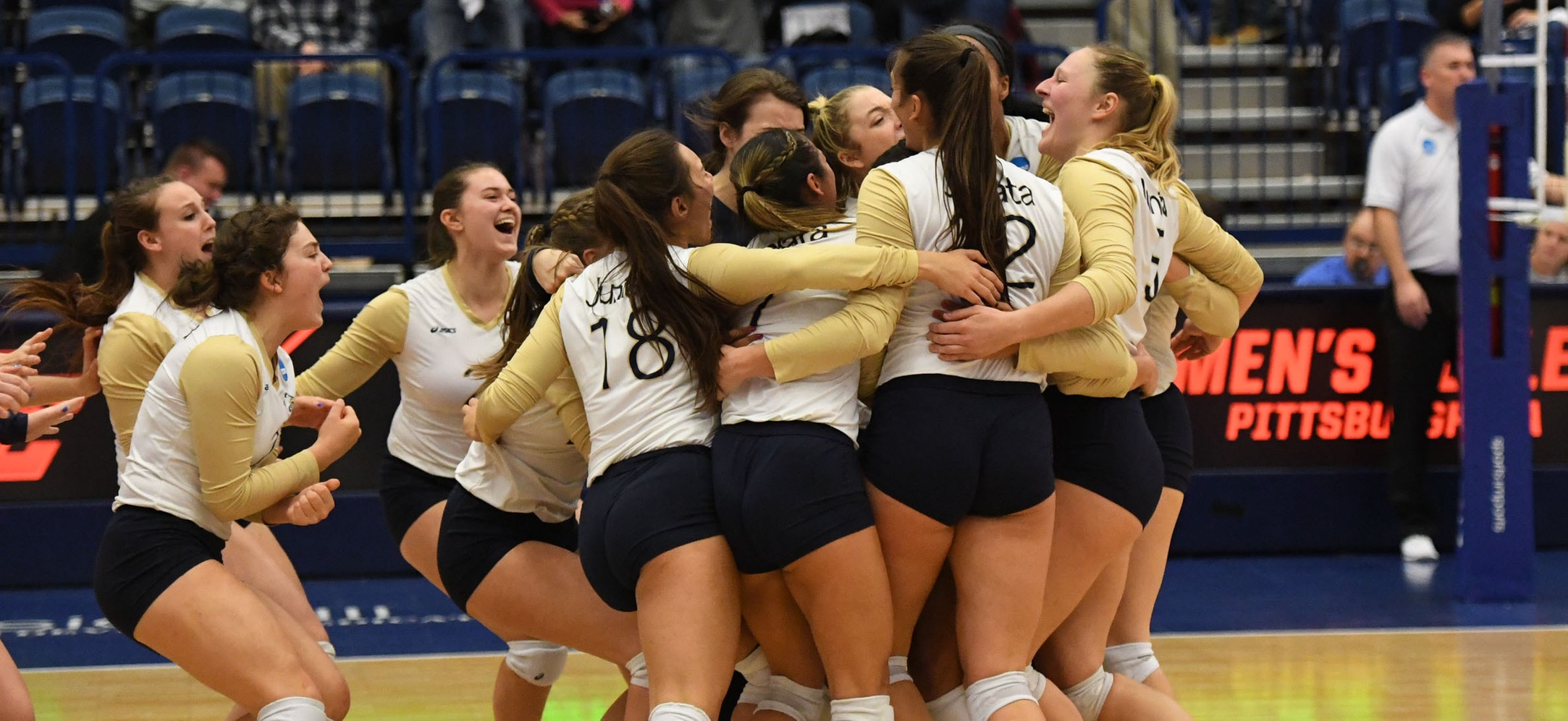 Women's Volleyball is excited to move on.