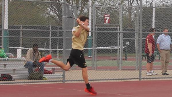 Men's Tennis Grabs First Win of the Season 8-1 over Southwestern Christian