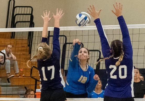 Team Effort Powers Women's Volleyball Over Lesley, 3-0
