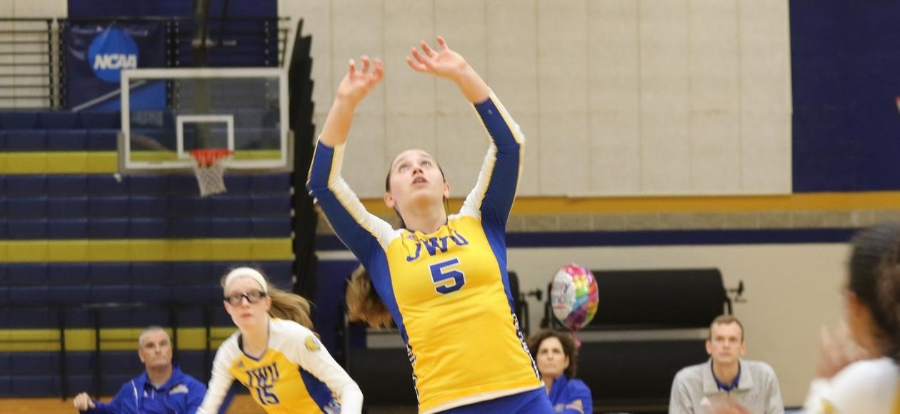 Top-Seed No. 21 Women's Volleyball Moves On To GNAC Semifinals