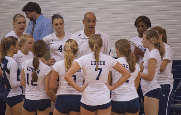 Queens Tops Coker, 3-0