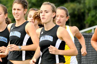 Women's x-country places eighth at Albany, second among DIII schools