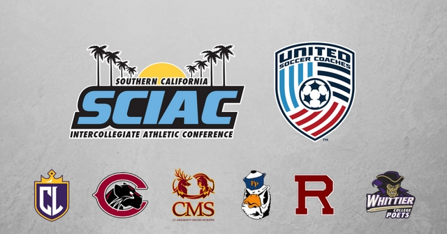 SCIAC Soccer Teams Secure United Soccer Coaches 2016-17 Team Academic Awards