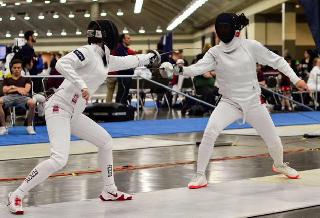 Barr Earns USA Fencing 'Spirit of Sport' Award