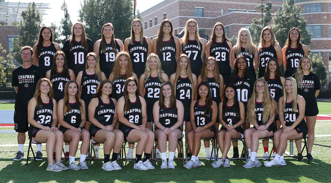 Women's lacrosse team picture.