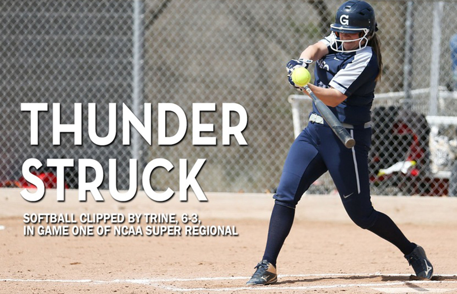 Geneseo Softball Clipped by Trine, 6-3, In Game One of NCAA Super Regional