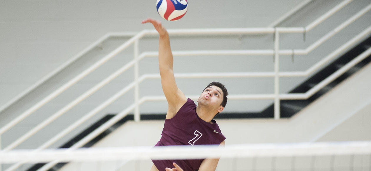 Top-Ranked Men's Volleyball Sweeps Rivier and Endicott
