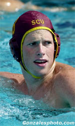Figoni Scores Eight to Lead Water Polo over Brown