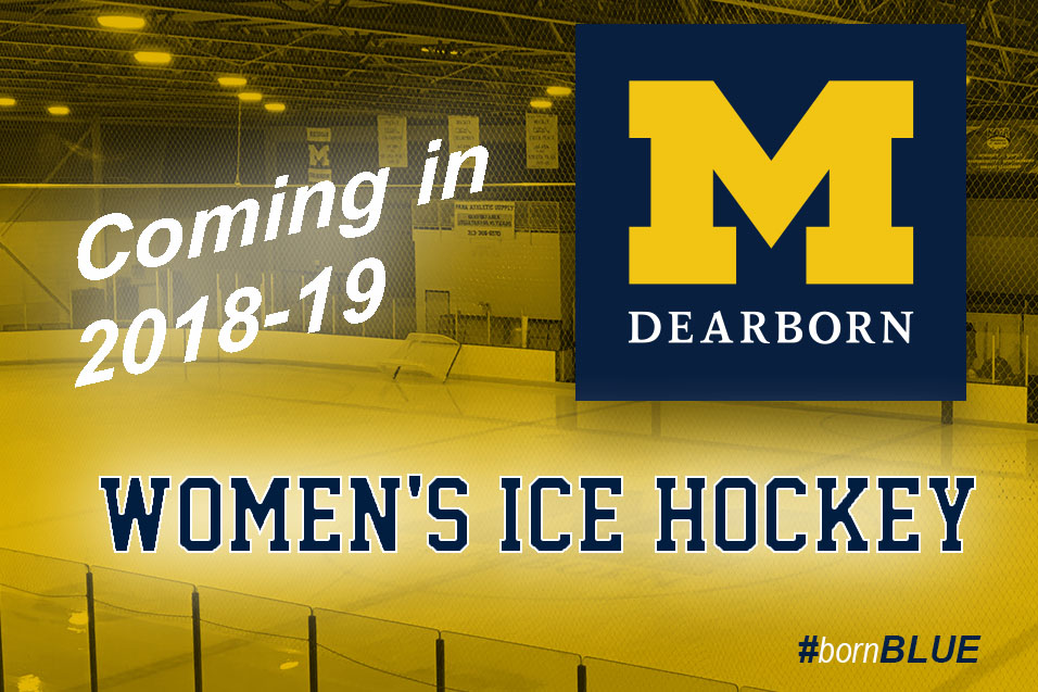 Photo for Women's Ice Hockey coming to UM-Dearborn in 2018-19