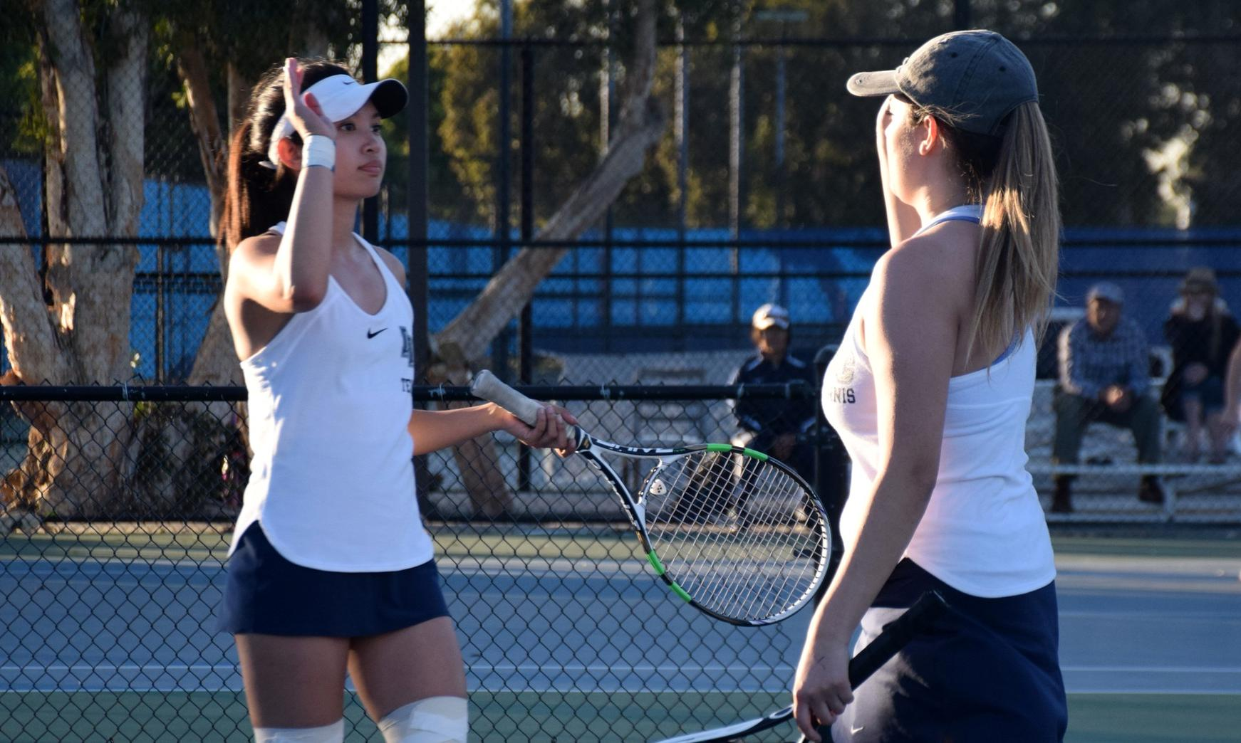 Women's tennis team tops Riverside to earn conference title